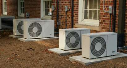 Our air conditioning heating and cooling installation services being performed in Magill